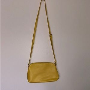 Forever 21 Yellow Crossbody purse